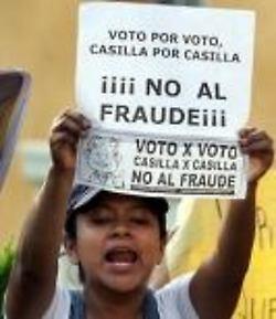 México: fallo del tribunal electoral, no contarán la totalidad de los votos