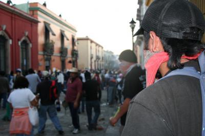 OFENSIVA DE LA PFP CONTRA EL PUEBLO DE OAXACA